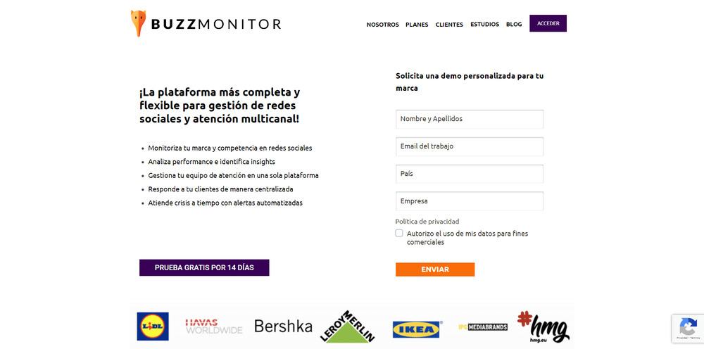 buzz monitor social media
